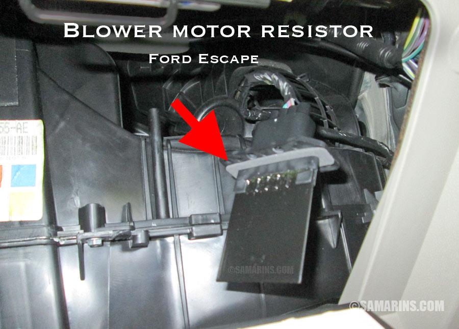 Cool Blower Motor Resistor How It Works Symptoms Problems Testing Wiring Cloud Dulfrecoveryedborg