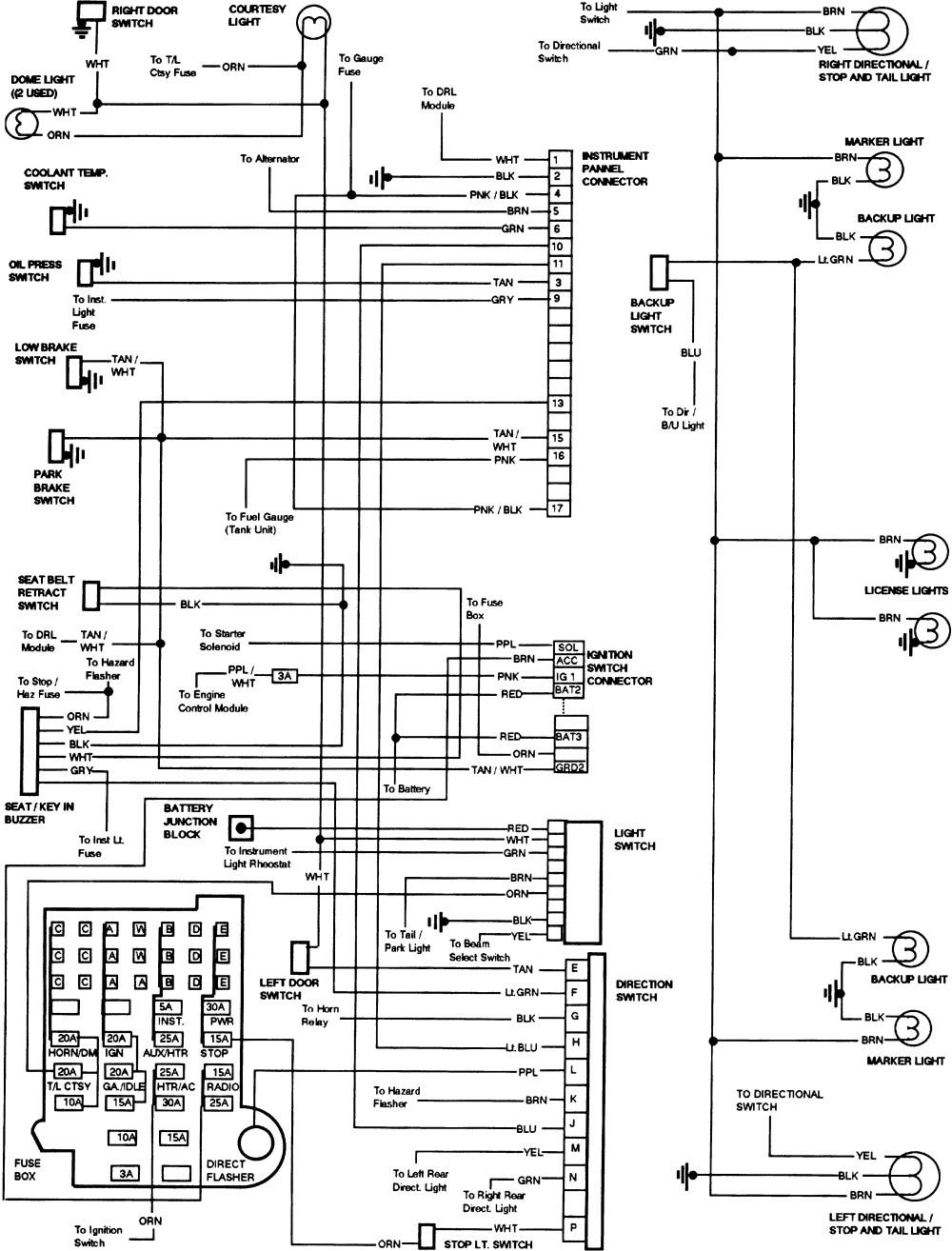 [SCHEMATICS_4NL]  YZ_8471] 87 Chevy Monte Carlo Wiring Diagram Schematic | 1989 Chevy Silverado Wiring Diagram |  | Benol Garna Mohammedshrine Librar Wiring 101