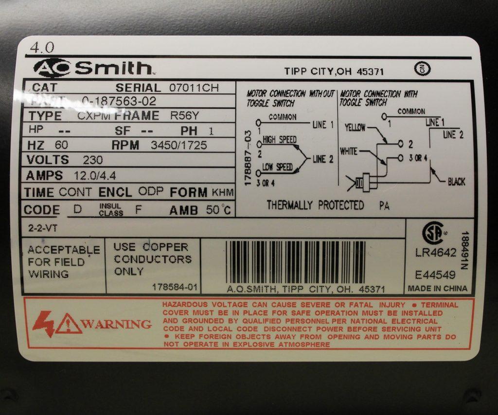115  230 Volt Motor Wiring Diagram - Database