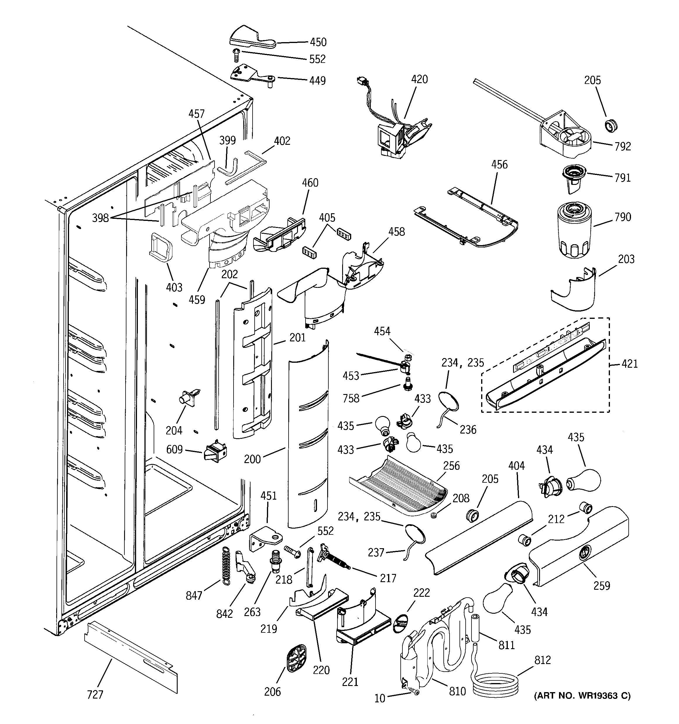 [SCHEMATICS_4US]  TB_0821] Refrigerator Wiring Diagram Ge Pss25Sgna Bs Schematic Wiring | Wiring Diagram Ge Profile |  | Arcin Benkeme Mohammedshrine Librar Wiring 101