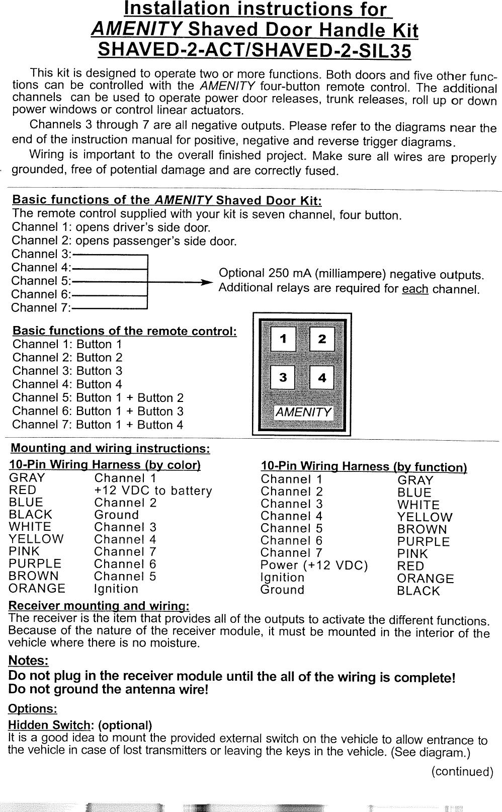 Admirable Multircu7Tx 7 Channel Control Module User Manual Users Manual Spal Usa Wiring Cloud Picalendutblikvittorg