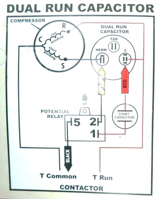 rf9903 refrigerator start capacitor wiring diagram