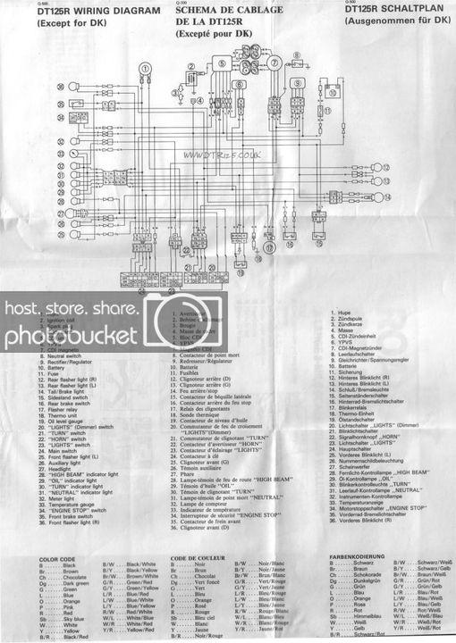 Yamaha Dt 125 R Wiring Diagram
