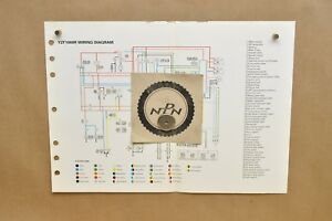 Astonishing 1997 Yamaha Thunderace Yzf1000 R Color Schematic Wire Wiring Wiring Cloud Staixaidewilluminateatxorg