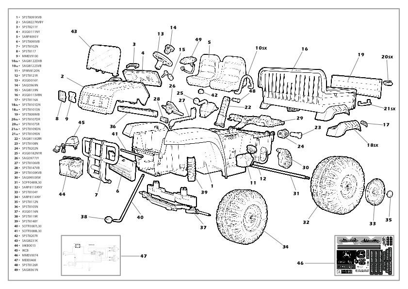 Gl 0640  John Deere Gator Fuse Box Diagram Free Diagram