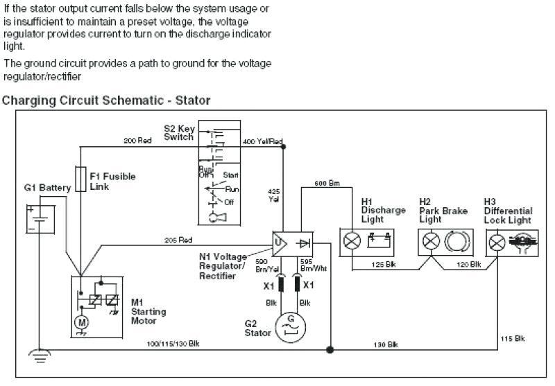 John Deere Gator 855d Wiring Diagram   Model Xuv 855d