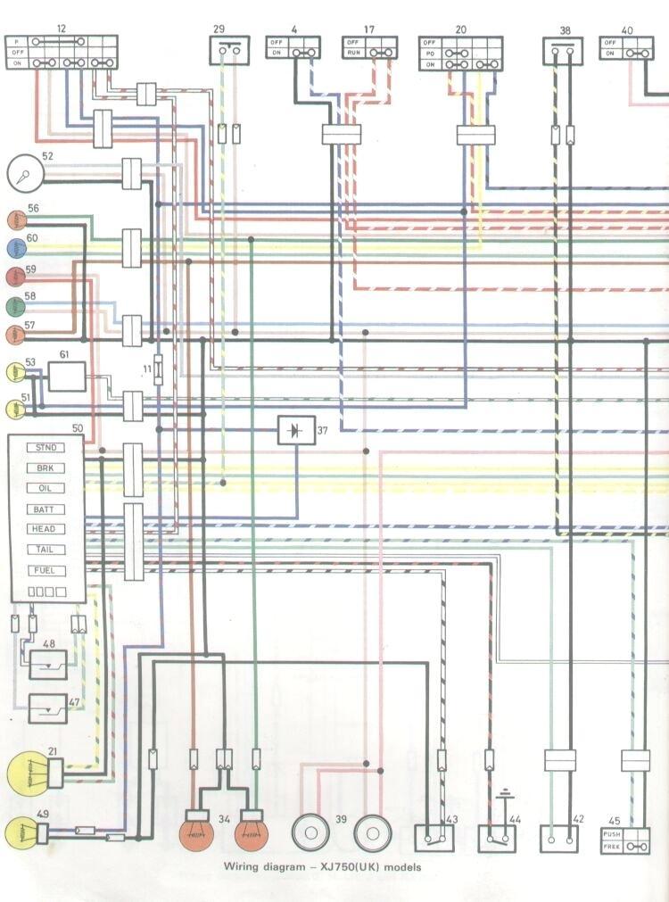 1981 Yamaha Xj550 Maxim Wiring Diagram Wiring Diagram United A United A Maceratadoc It