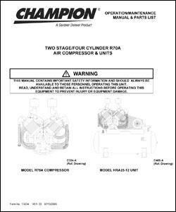 Ed 8598 Champion Compressor Wiring Diagram Champion Air