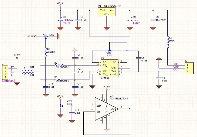 interface load cell wiring diagram ho 3269  load cell amplifier schematic schematic design download  ho 3269  load cell amplifier schematic