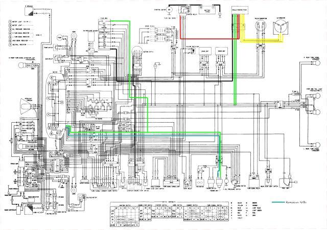 2001 Honda Goldwing Wiring Diagram