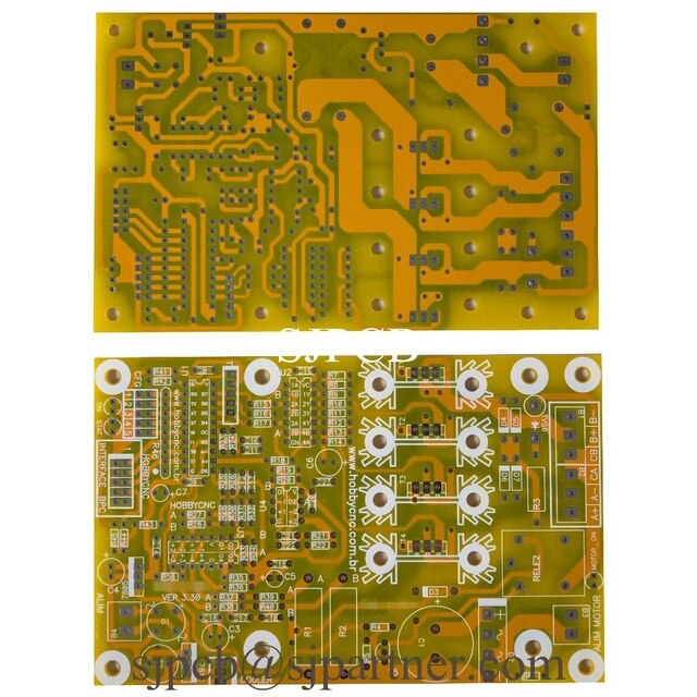 Wondrous Yellow Solder Mask White Silkscreeen Overlay Printed Circuit Board Wiring Cloud Faunaidewilluminateatxorg