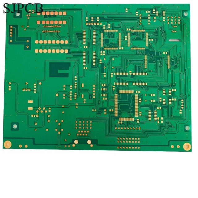 Fine Sjpcb 4 Layer Immersion Gold With High Precision Technology Green Wiring Cloud Itislusmarecoveryedborg