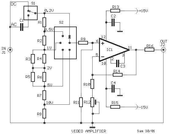 Fantastic Video Amplifier Circuit Video Circuits Next Gr Wiring Cloud Itislusmarecoveryedborg