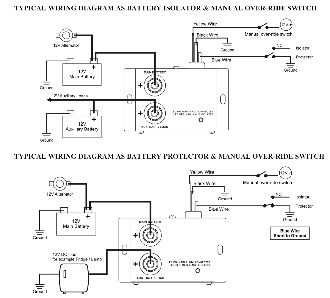 12v marine wiring diagram wd 8090  wiring for battery isolator free diagram  wiring for battery isolator free diagram
