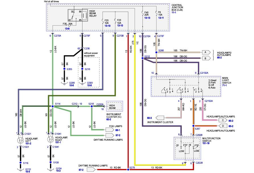 2008 Ford F 250 Headlight Wiring Diagram - 2012 Chevy Truck Fuse Box Heater  for Wiring Diagram Schematics
