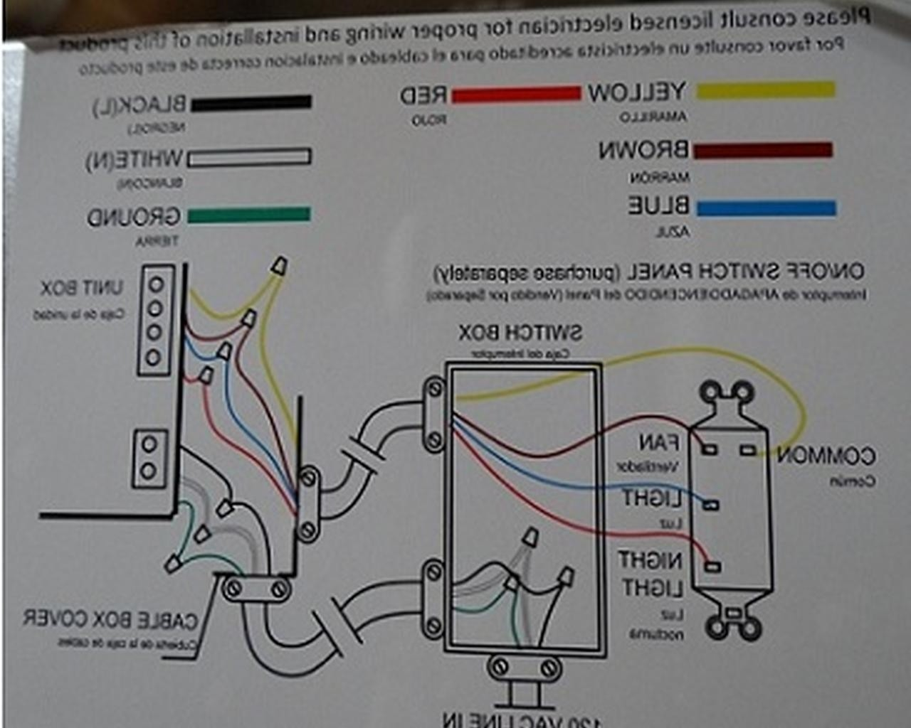 Yf 6152 Wiring Diagram For A Hampton Bay Ceiling Fan With Remote As Well As