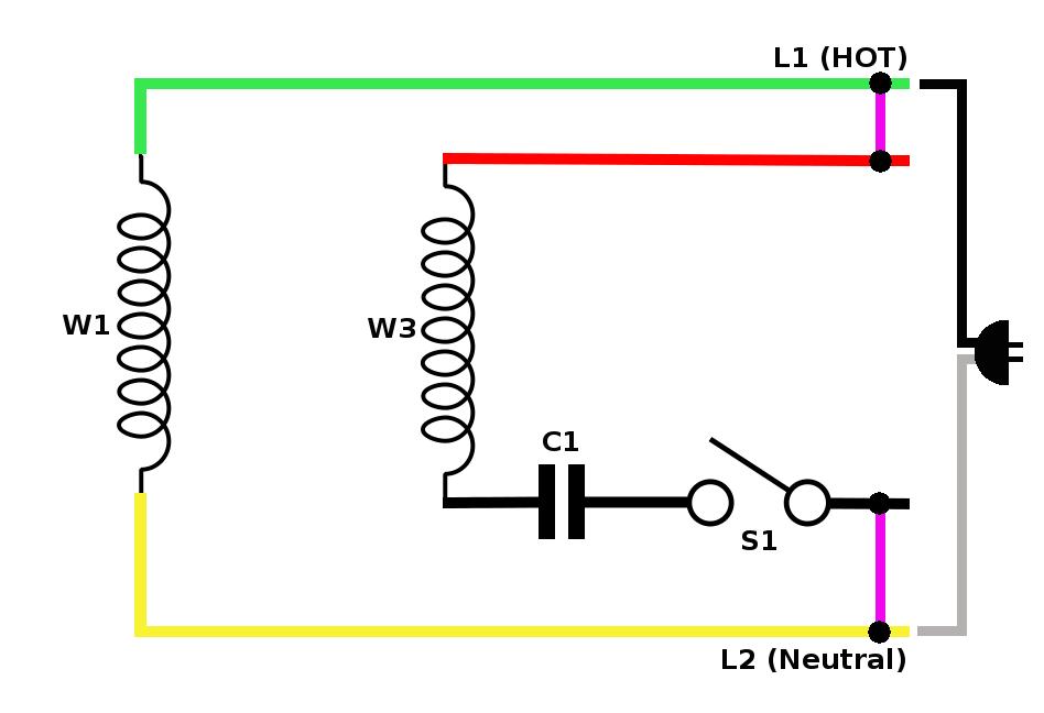 Astonishing Single Phase Capacitor Start Motor Wiring Wiring Diagram Database Wiring Cloud Apomsimijknierdonabenoleattemohammedshrineorg