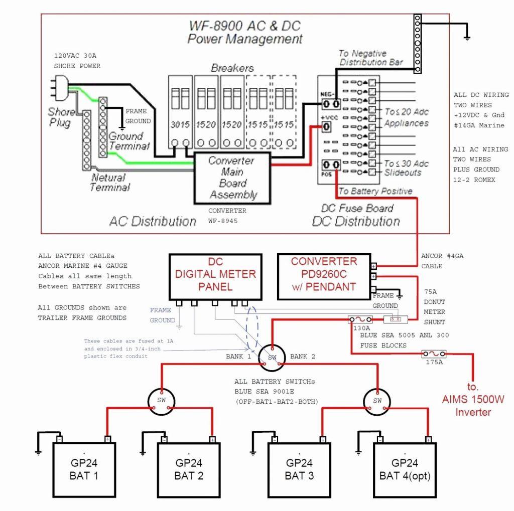 Peachy Vintage Rv Converter Wiring Diagram Wiring Diagram Wiring Cloud Mousmenurrecoveryedborg