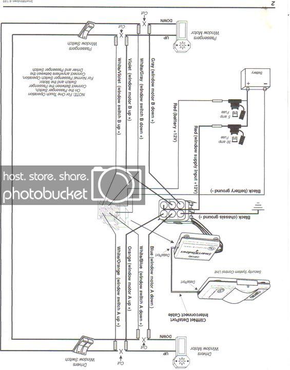 Clifford Concept 650 Alarm Wiring Diagram