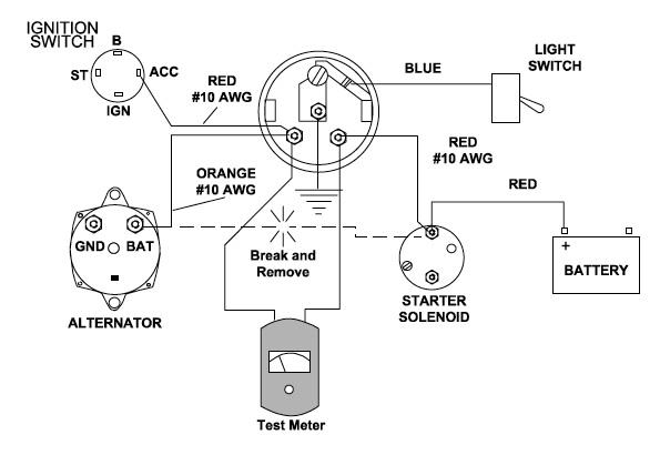 zr8595 wiring an ammeter free diagram