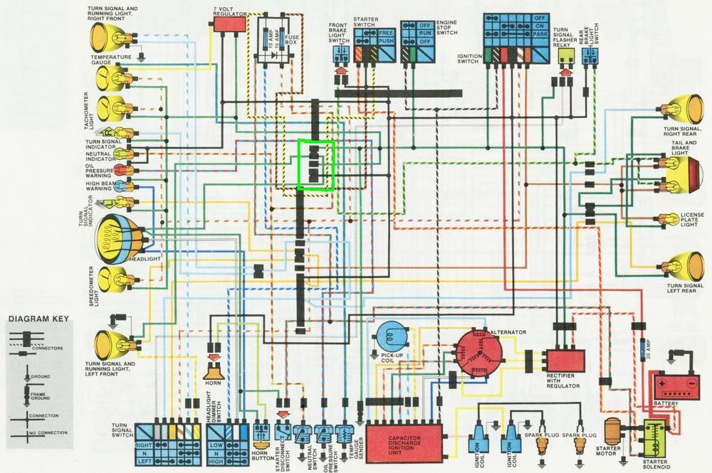 BW_7713] 1974 Honda Cb450 Wiring DiagramIlari Gray Proe Mohammedshrine Librar Wiring 101