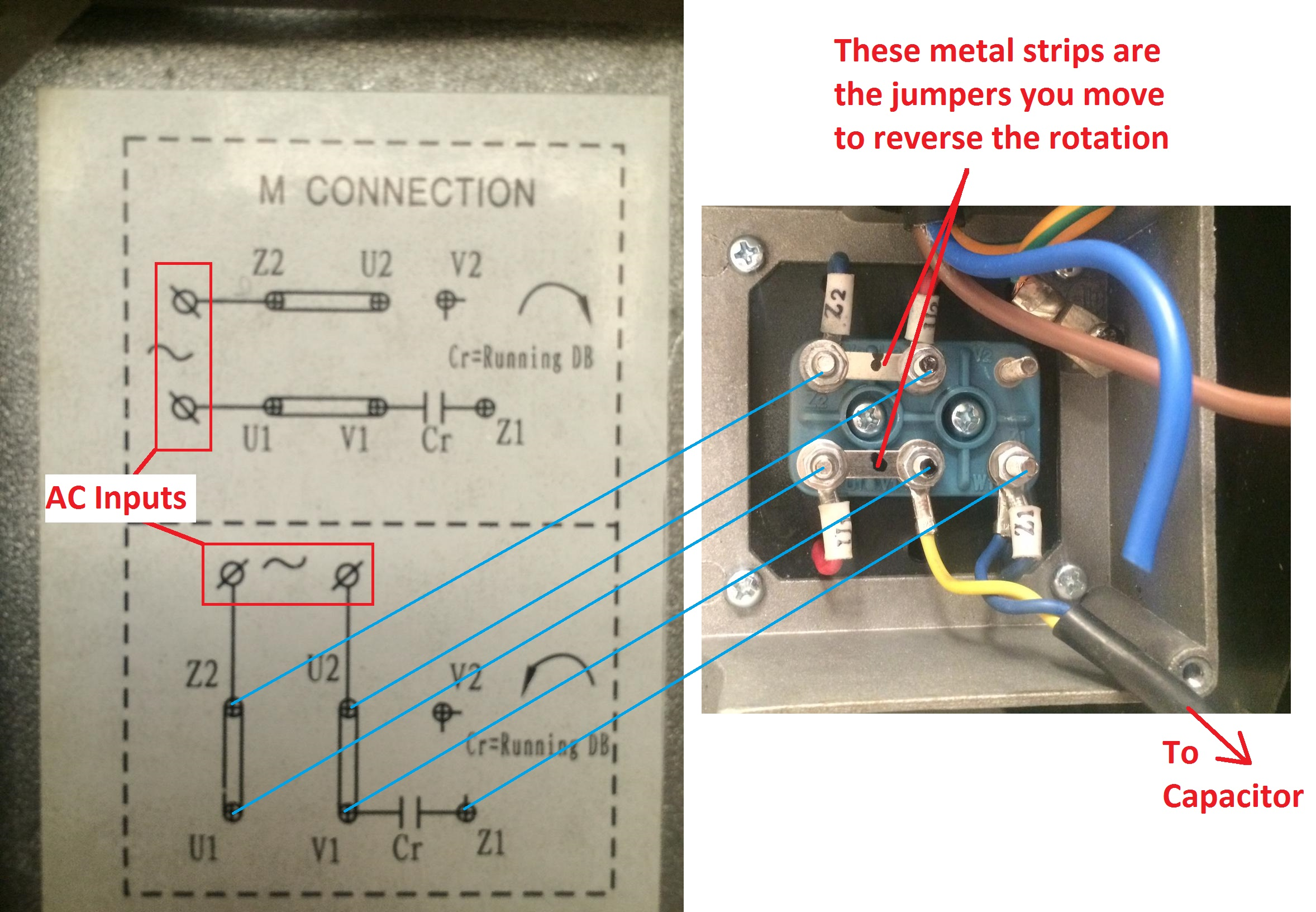 Fantastic Wiring How To Wire Up A Single Phase Electric Blower Motor Wiring Cloud Orsalboapumohammedshrineorg