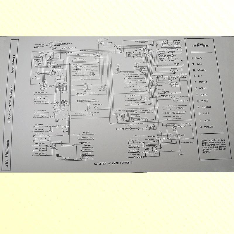 Xke Jaguar Wiring Diagram