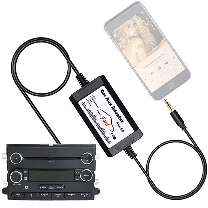 Admirable Amazon Com Apps2Car Car Stereo Aux Adapter Audio Cable For Ford Wiring Cloud Intelaidewilluminateatxorg