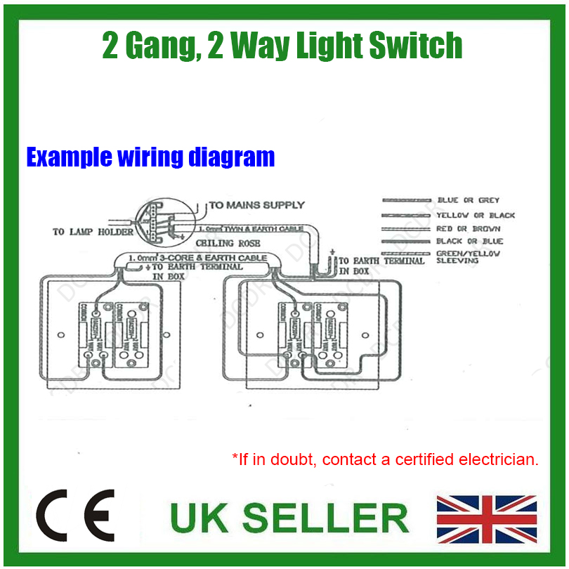 hv6103 wiring 1 gang 2 way switch diagram schematic wiring