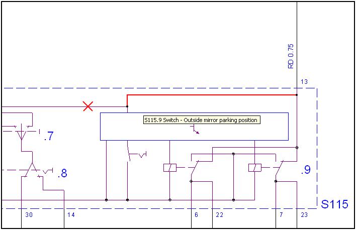 Zafira B Door Wiring Diagram