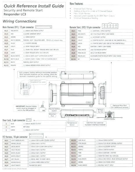 Viper 5704 Remote Start Wiring Diagram