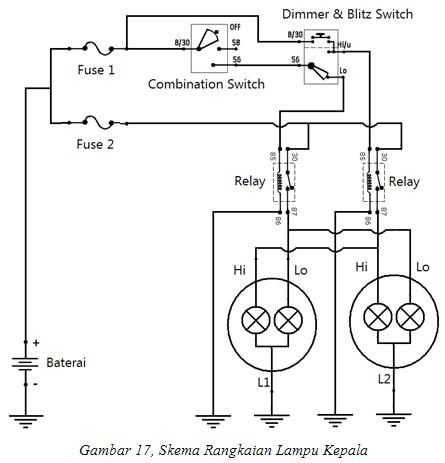 Bd 9615 Wiring Kelistrikan Lampu Kepala Download Diagram