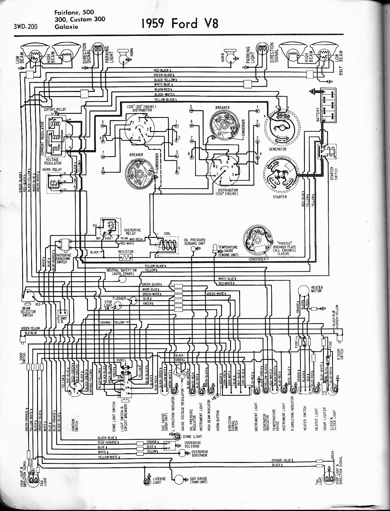 Awesome 57 65 Ford Wiring Diagrams Wiring Cloud Intelaidewilluminateatxorg