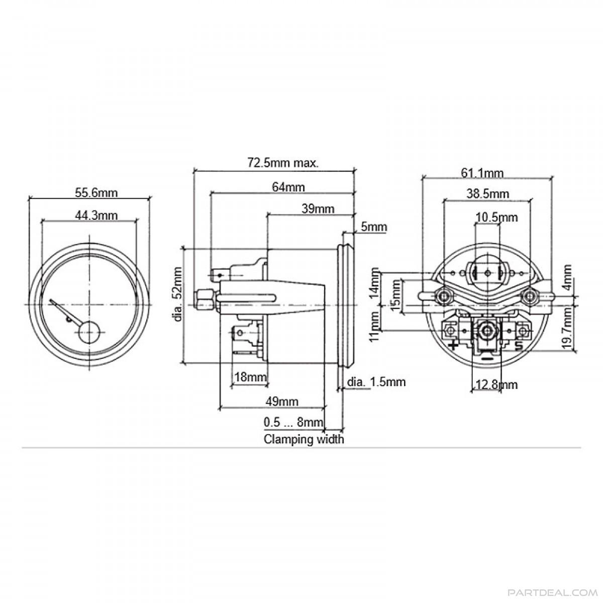 vdo gauge wiring diagram voltage vdo oil temp wiring diagram wiring diagram data  vdo oil temp wiring diagram wiring