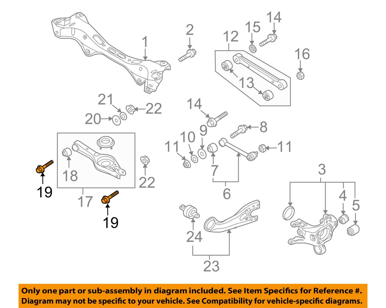 Ram CHRYSLER OEM 11-18 1500 Front Suspension-Shock Bolt 6509751AA