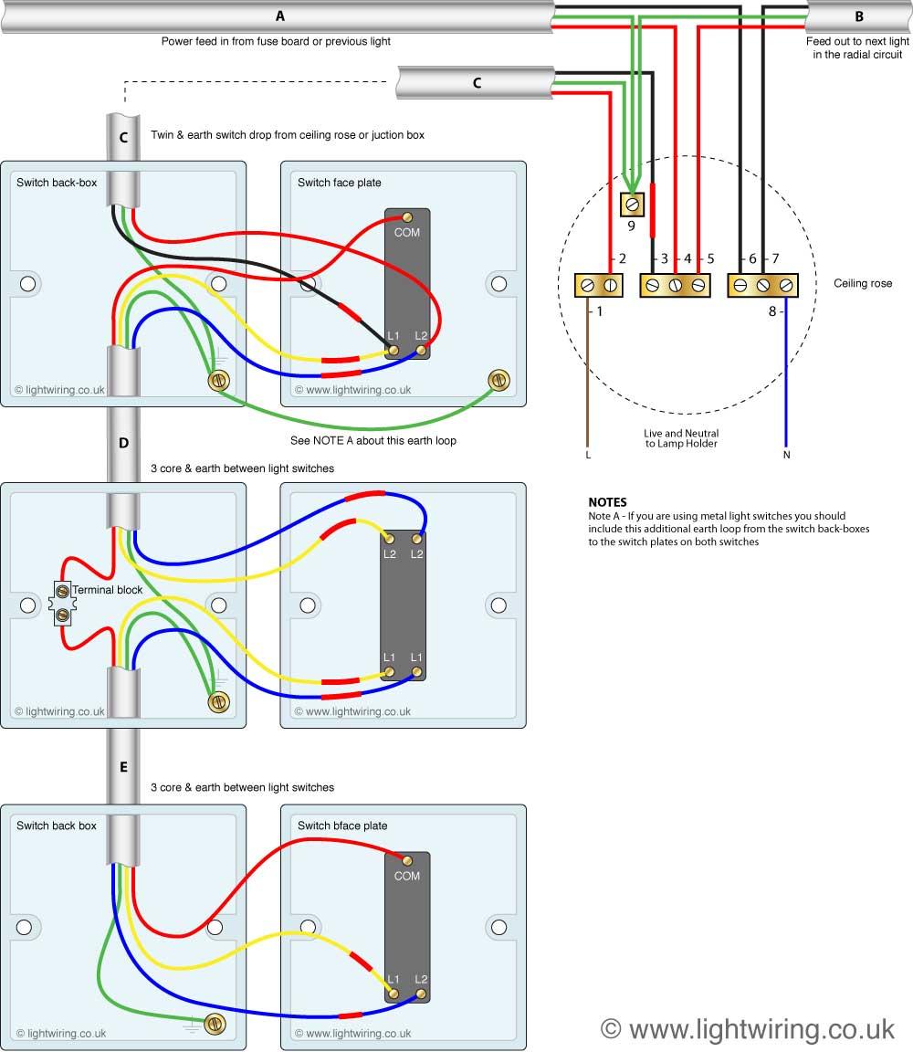 Astonishing Intermediate Switch Wiring Light Wiring Wiring Cloud Rineaidewilluminateatxorg