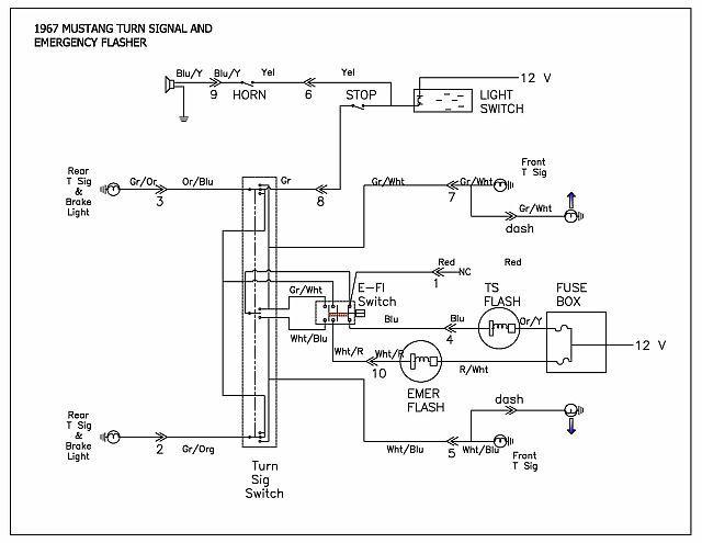 1967 thunderbird turn signal diagram wiring schematic lr 3896  mustang turn signal flasher wiring diagram  mustang turn signal flasher wiring diagram