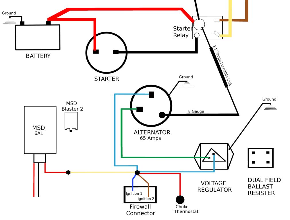 Tremendous Mopar Charging Wiring Diagram Standard Electrical Wiring Diagram Wiring Cloud Licukshollocom