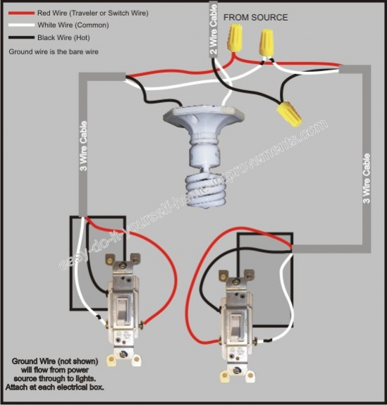 Le 4013 Three Way Switch Wiring Diagram Further 3 Way Switch Wiring Diagram Free Diagram