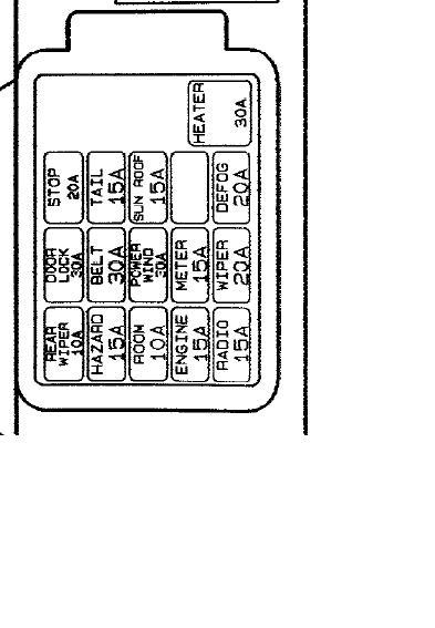 2001 mazda protege fuse diagram br 8242  on a 1993 mazda fuse box schematic wiring  on a 1993 mazda fuse box schematic wiring