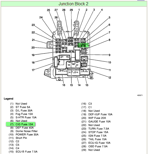 Chevy Prizm Fuse Box Wiring Diagram View A View A Zaafran It