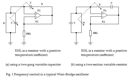 Swell Wien Bridge Oscillator Has Simplified Frequency Control Wiring Cloud Xortanetembamohammedshrineorg