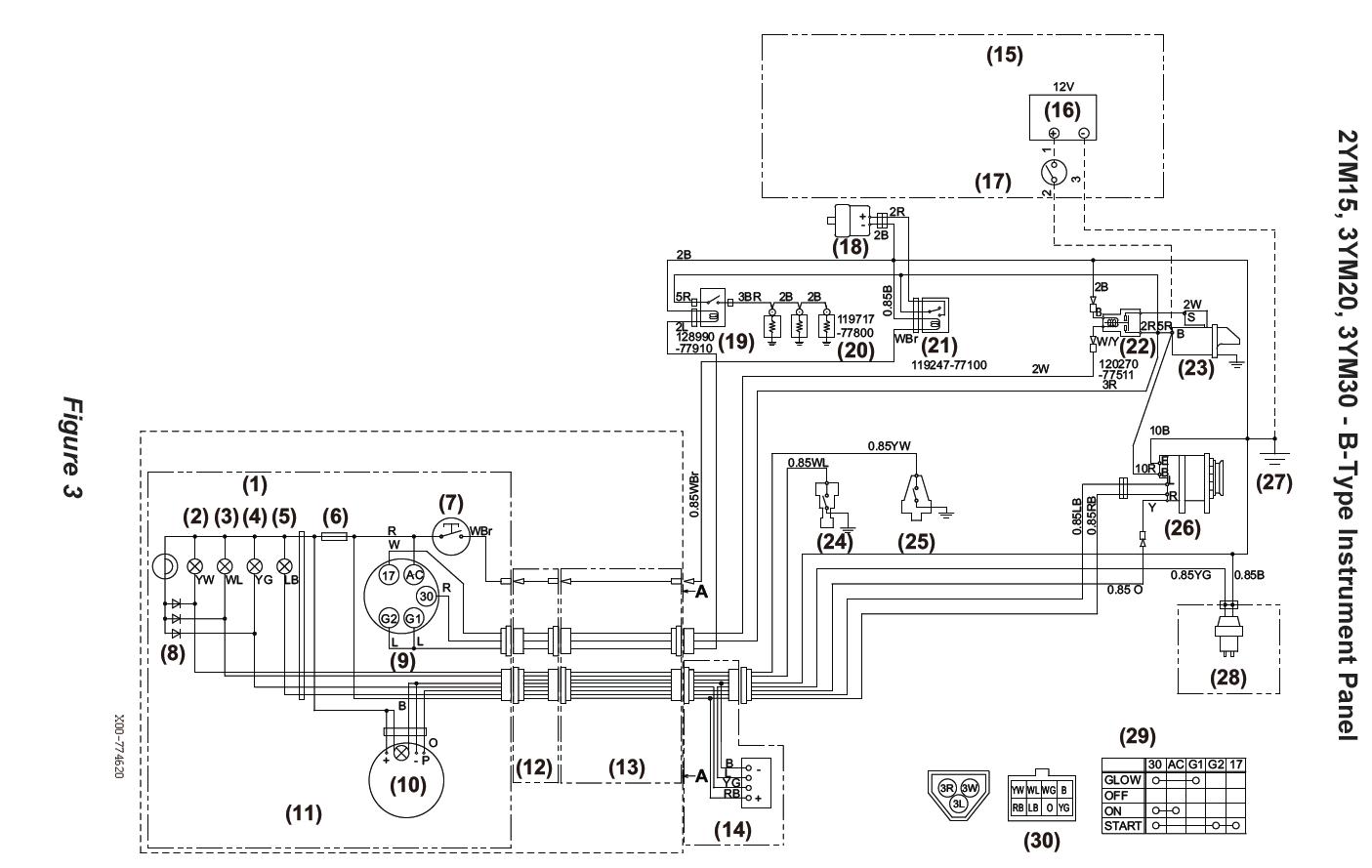 yanmar ignition wiring diagram yanmar wiring schematic wiring diagram schematics  yanmar wiring schematic wiring