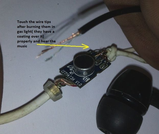Brilliant How To Repair Damaged Earphone 4 Steps Wiring Cloud Ittabisraaidewilluminateatxorg