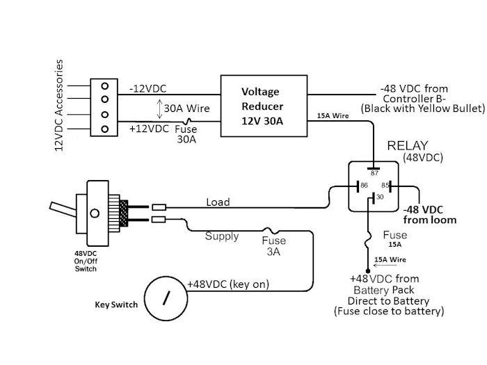 16 Volt Battery Wiring Diagram Polaris Outlaw 50 Wiring Diagram For Wiring Diagram Schematics
