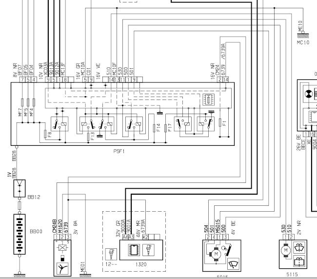 fuse box on a citroen xsara picasso bv 0349  citroen xsara picasso wiring diagram xantia air cond  citroen xsara picasso wiring diagram
