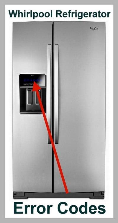 Peachy Whirlpool Refrigerator Error Codes Display Code Reset Wiring Cloud Mousmenurrecoveryedborg