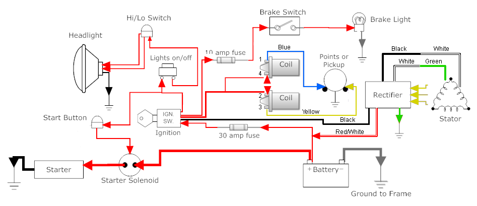 honda cb750 chopper wiring diagram vh 3595  honda cb750k wiring diagram schematic wiring  vh 3595  honda cb750k wiring diagram