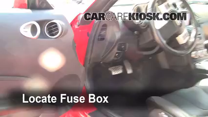Incredible Interior Fuse Box Location 2003 2009 Nissan 350Z 2008 Nissan 350Z Wiring Cloud Eachirenstrafr09Org