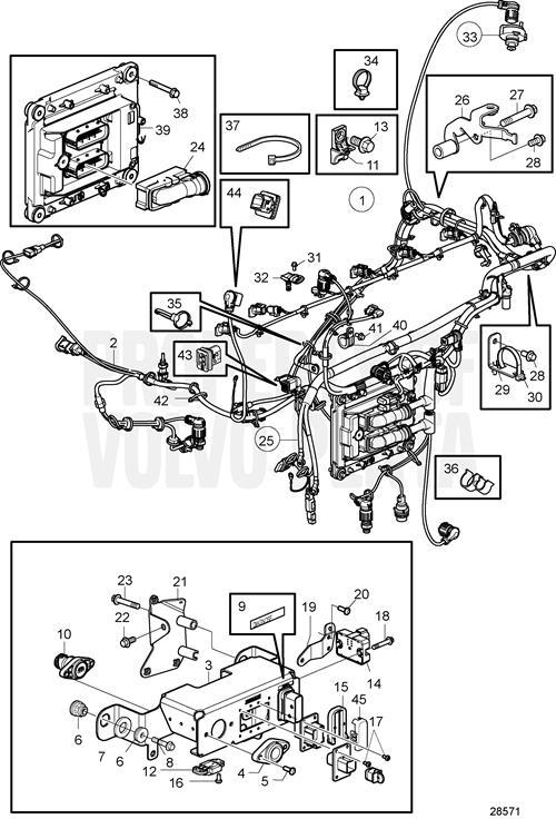 Volvo Penta Engine Wiring Diagram